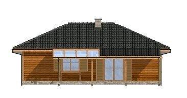 Projekt domu Dudek pow.netto 87,56 m2
