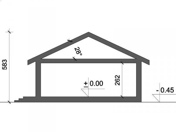 Projekt domu Sardynia A