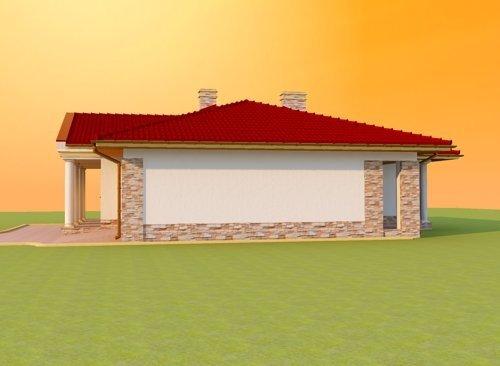Projekt domu Rezydencja 54
