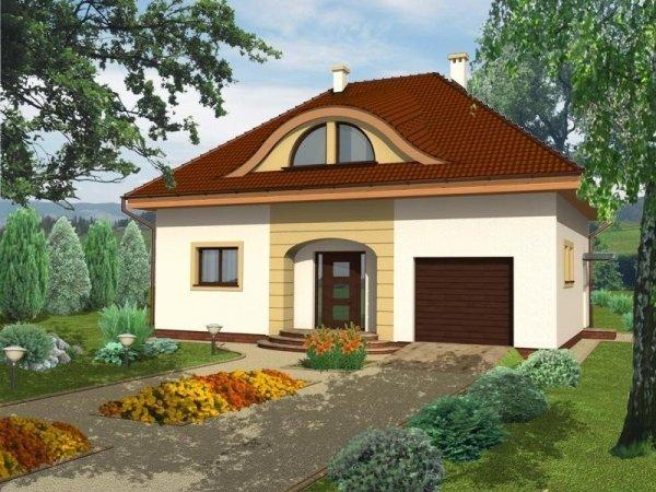Projekt domu Malibu