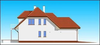 Projekt domu Przytulny pow.netto 155,78 m2