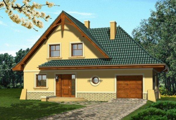 Projekt domu BORSALINO
