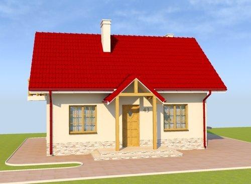 Projekt domu Słoneczna Kasztelanina
