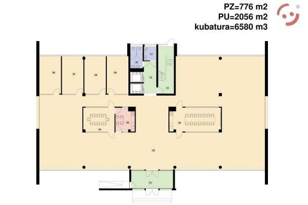 Projekt biurowca PS-BR-700-30