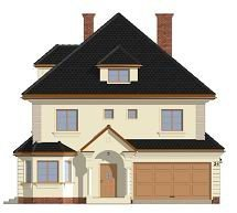 Projekt domu Agat pow.netto 232,14 m2