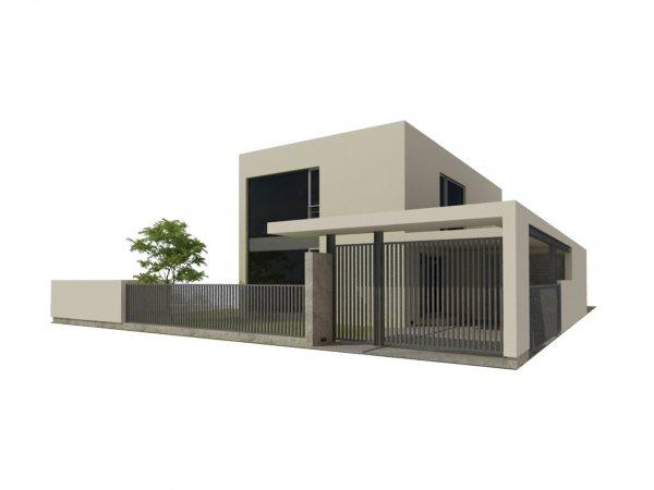 Projekt domu nowoczesnego GJ7020