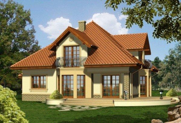 Projekt domu MERITUM