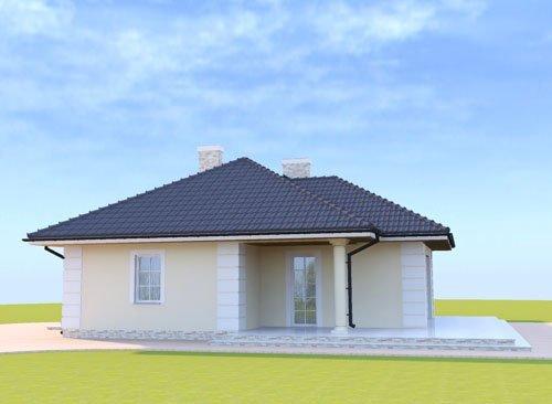 Projekt domu parterowego Oaza Spokoju