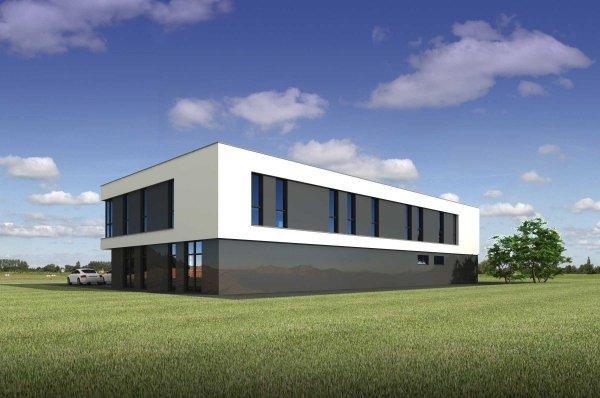 Projekt biurowca PS-SB-470-20 o pow. 776 m2