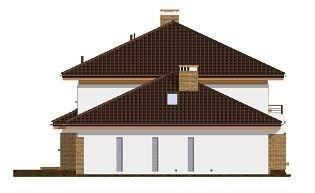 Projekt domu Słodki pow.netto 244,52 m2