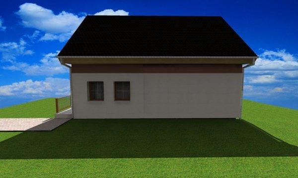 Projekt domu pasywnego LIGHT - Dom Amerigo