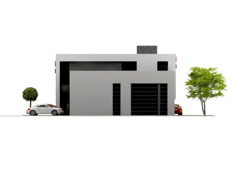 Projekt warsztatu samochodowego PS-SS-H3 pow. 452.00 m2