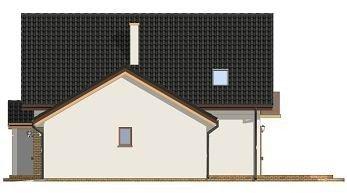Projekt domu Sylwia pow.netto 154,83 m2