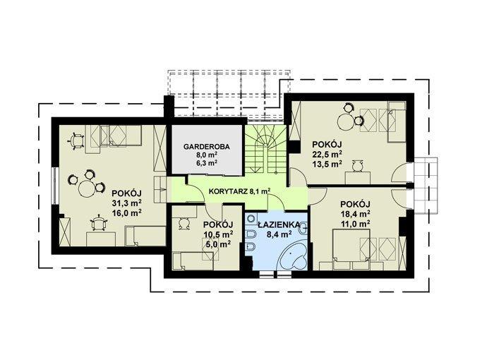 Projekt domu TK24GL2