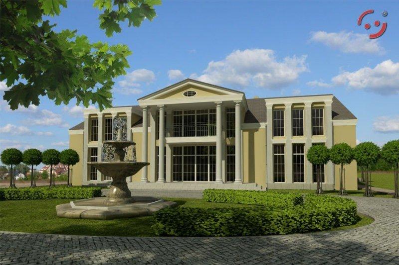 Projekt domu weselnego PS-DW-750