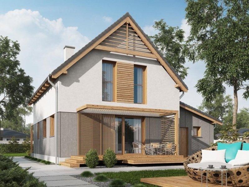 Projekt domu Istria A