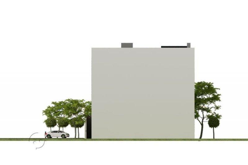 Projekt biurowca - hotelu PS-BR-490-40-V4 pow. 1700.00 m2