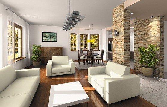 Projekt domu Saga III pow.netto 215,73 m2