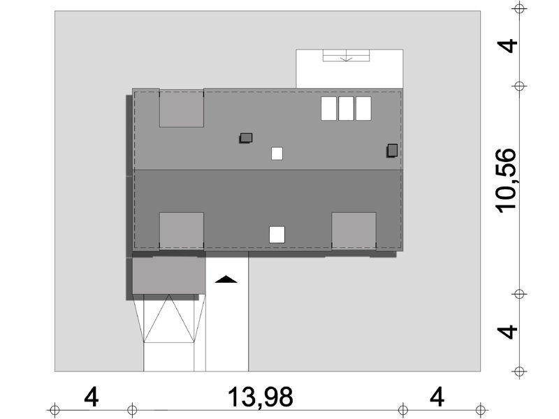Projekt domu Casablanca