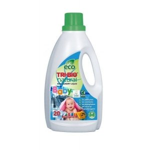 TRI-BIO Ekologiczny skoncentrowany płyn do prania ubranek dziecięcych BABY 940ml