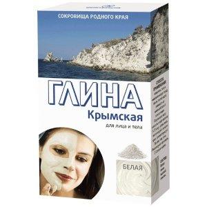Krymska Glinka Biała Matująca - 100% naturalna - 100g