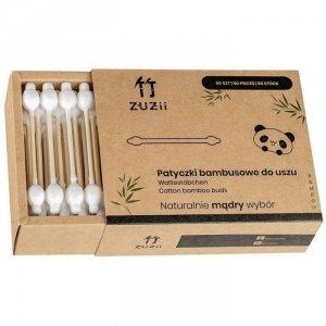 Bambusowe patyczki kosmetyczne dla dzieci i niemowląt 50 szt.