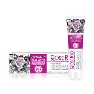 """Homeopatyczna Pasta do zębów """"Rose Rio Homeopathic 65 ml."""