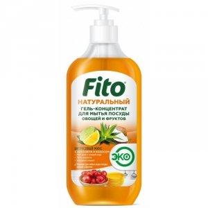 Naturalny koncentrat w żelu do mycia naczyń i owoców Cytrusowy Mix, 490 ml Fitocosmetik