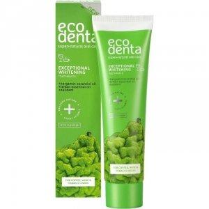 ECODENTA GREEN LINE Wybielająca pasta do zębów z bergamotką, eterycznymi olejkami cytrynowymi i kalidentem, 75 ml