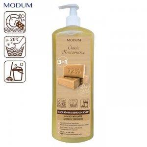 MODUM Gospodarcze mydło w płynie NATURALNE, 925 ml