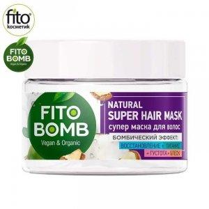 FITO BOMB Maska do włosów rewitalizująca, odżywcza, nadająca gęstość i połysk, 250 ml - Fitokosmetik