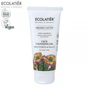 ORGANIC CACTUS Oczyszczający żel do mycia twarzy, 100ml ECOLATIER