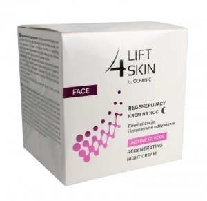 Lift 4 Skin Active Glycol Krem na noc regenerujący  50ml