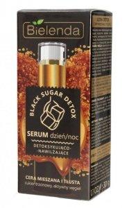 Bielenda Black Sugar Detox Serum detoksykująco-nawilżające na dzień i noc  30g