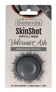 Bielenda Skin Shot Maseczka normalizująca na twarz Volcanic Ash  8g