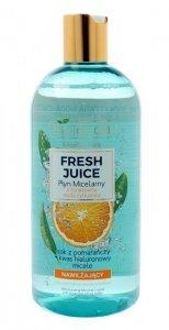Bielenda Fresh Juice Płyn micelarny nawilżający z wodą cytrusową Pomarańcza 100ml