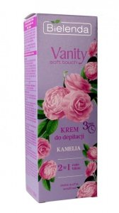 Bielenda Vanity Soft Touch Krem do depilacji 2w1 Kamelia 100ml