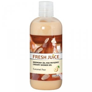 Fresh Juice Żel pod prysznic kremowy Caramel Pear  500ml