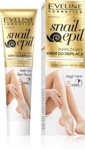 Eveline Snail Epil Nawilżający Krem do depilacji rąk i nóg ze śluzem ślimaka  125ml