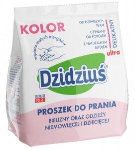Dzidziuś Proszek do prania pieluszek, bielizny, odzieży niemowlęcej Kolor  850g