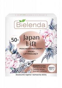 Bielenda Japan Lift 50+ Liftingujący Krem przeciwzmarszczkowy SPF6 na dzień  50ml