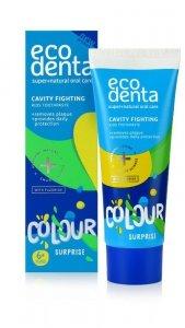ECODENTA Colour Surprise Pasta do zębów dla dzieci 6+ 75ml