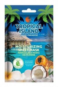 Marion Tropical Island Maska na tkaninie nawilżająca Tahiti Paradise  1szt