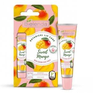 Bielenda Botanical Lip Care Balsam do ust Sweet Mango - naturalny róż 10g
