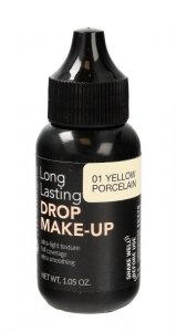 Bell Hypoallergenic Podkład kryjący Long Lasting Drop nr 01 Yellow Porcelain 30g