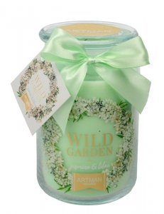 ARTMAN Świeca zapachowa Wild Garden Jasmine&Lilac słoik duży 1szt-700g