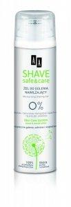 AA Shave Safe & Care Żel do golenia nawilżający 200ml