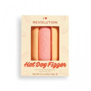 I Heart Revolution Tasty Sól musująca do kąpieli Hot Dog 120g