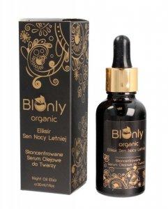 BIOnly Organic Eliksir Sen Nocy Letniej Skoncentrowane Serum olejowe do twarzy 30ml