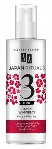AA Japan Rituals 3 Tone Tonik w mgiełce - każdy rodzaj cery 200ml